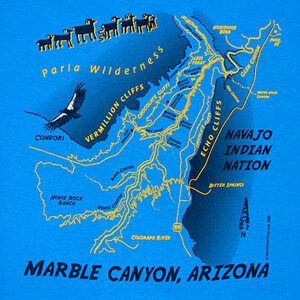 Marble Canyon, Arizona - Custom Tshirts