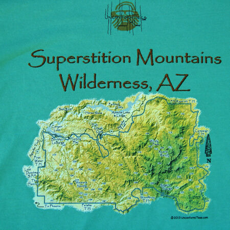 Weavers Needle, Superstition Mountains T-Shirt